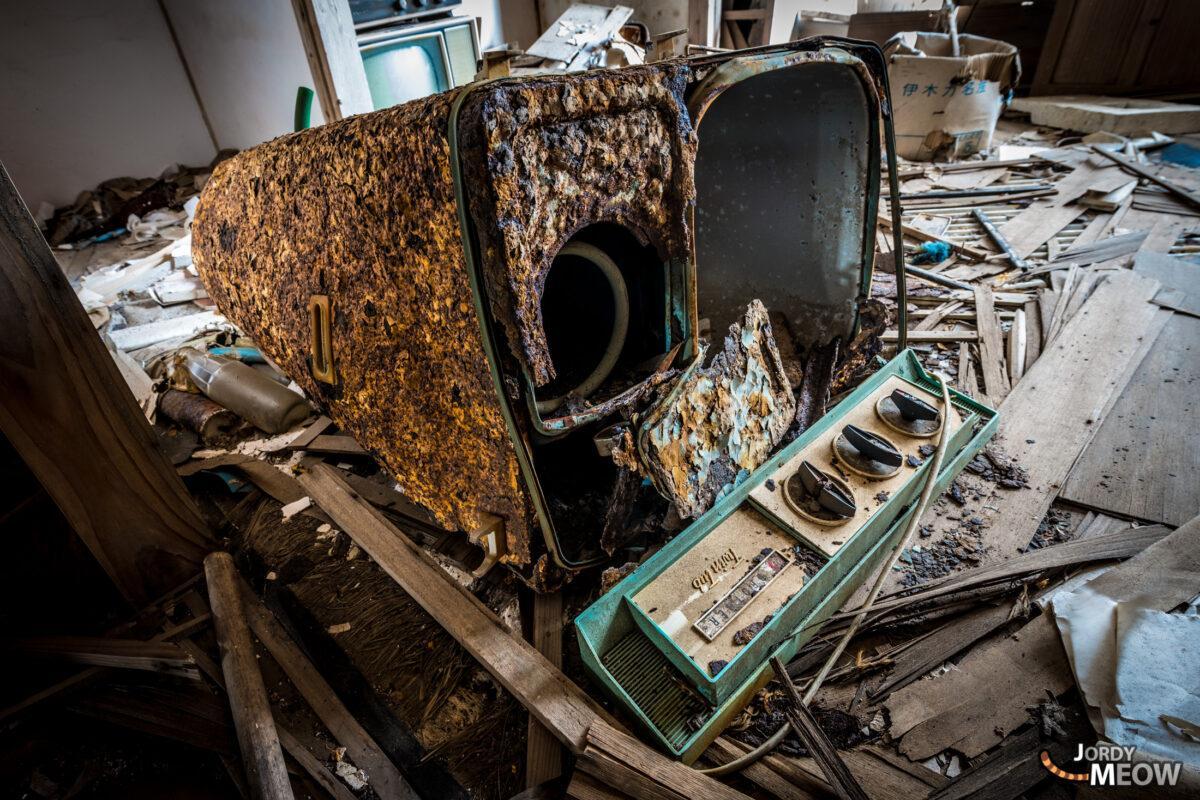 Ruined Washing Machine.